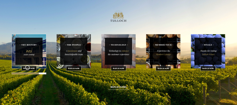 Tulloch Wines – a 360 VR proof of concept